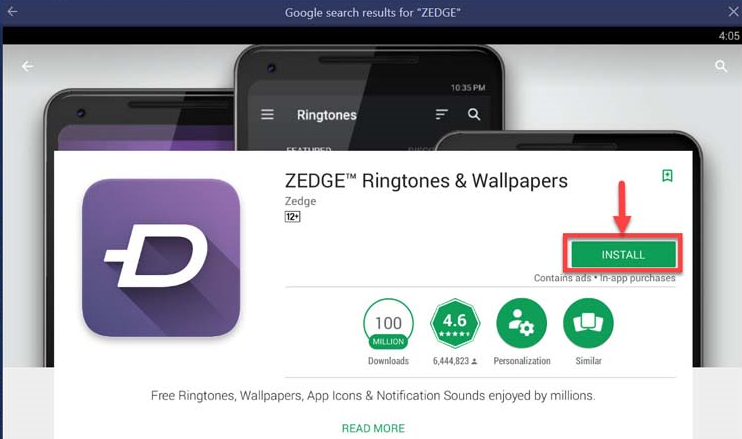 download zedge for windows 8