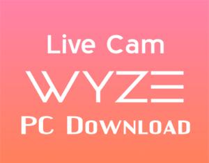 wyze app for pc