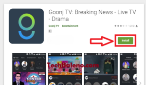 goonj app download for pc