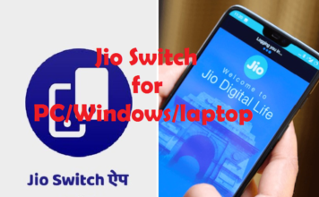 jio switch for pc