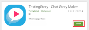 texting story pc